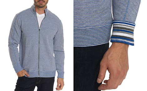Robert Graham Oneonta Front-Zip Cotton Sweater - 100% Exclusive - Bloomingdale's_2