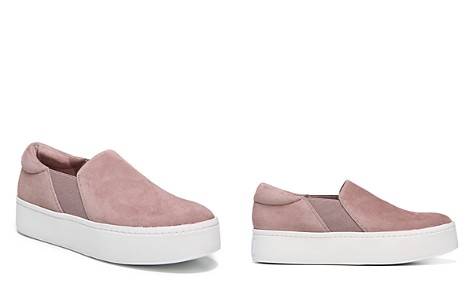 Vince Women's Warren Suede Platform Slip-On Sneakers - Bloomingdale's_2