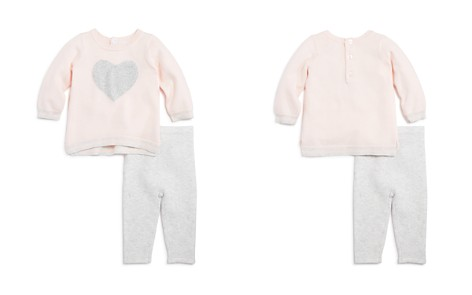 Bloomie's Girls' Heart Sweater & Leggings Set, Baby - 100% Exclusive - Bloomingdale's_2