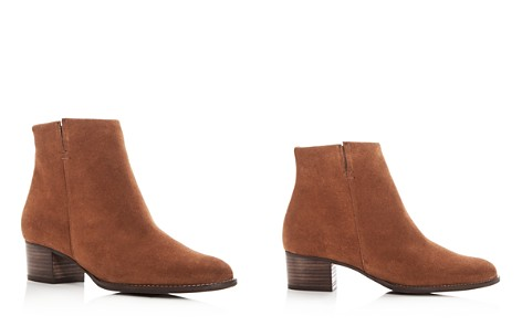 Paul Green Women's North Suede Low Heel Booties - Bloomingdale's_2