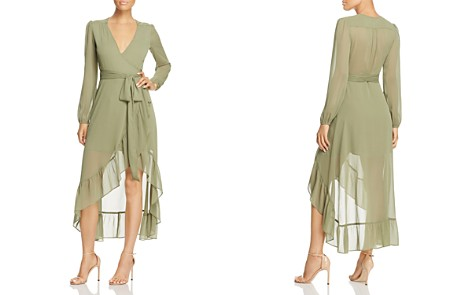 WAYF Only You Ruffle Wrap Dress - 100% Exclusive - Bloomingdale's_2
