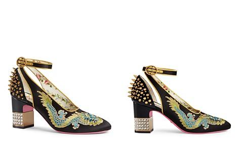 Gucci Women's Ankle Strap Pumps - Bloomingdale's_2
