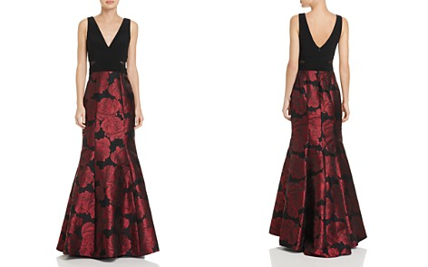 Avery G Jacquard-Skirt Gown - Bloomingdale's_2