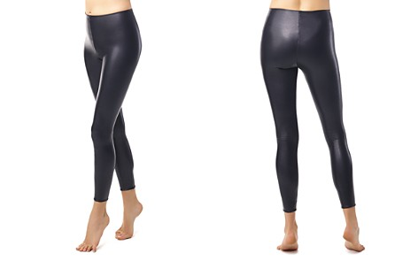 Commando Perfect Control Faux Leather Leggings - Bloomingdale's_2