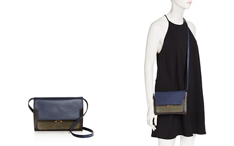 Marni Trunk Mini Leather and Suede Crossbody - Bloomingdale's_2