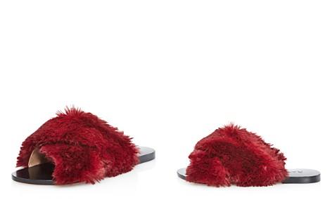 Raye Sid Faux Fur Pool Slide Sandals - Bloomingdale's_2