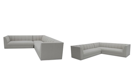 Bloomingdale's Artisan Collection Castle Sectional _2