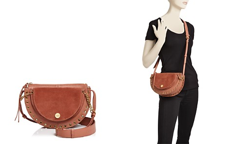 See by Chloé Kriss Small Suede & Leather Crossbody - Bloomingdale's_2