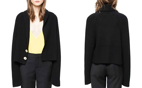 Zadig & Voltaire Tory Wool & Cashmere Cardigan - Bloomingdale's_2
