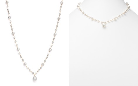 "Cultured Freshwater Pearl Pendant Necklace in 14K Yellow Gold, 19"" - 100% Exclusive - Bloomingdale's_2"