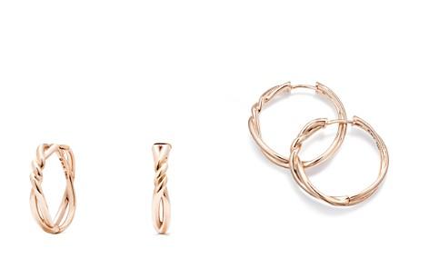 David Yurman Continuance Hoop Earrings in 18K Rose Gold - Bloomingdale's_2