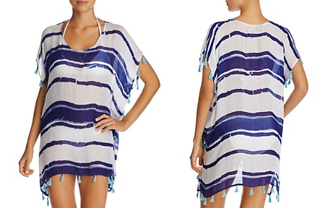 Surf Gypsy Tassel Striped Tunic Swim Cover-Up - Bloomingdale's_2