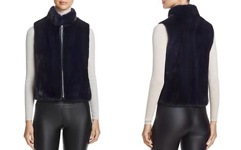 Maximilian Furs Cropped Nafa Mink Fur Vest - 100% Exclusive - Bloomingdale's_2