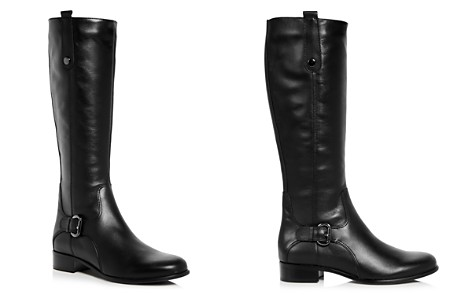 La Canadienne Women's Stefanie Waterproof Leather Low Heel Riding Boots - Bloomingdale's_2