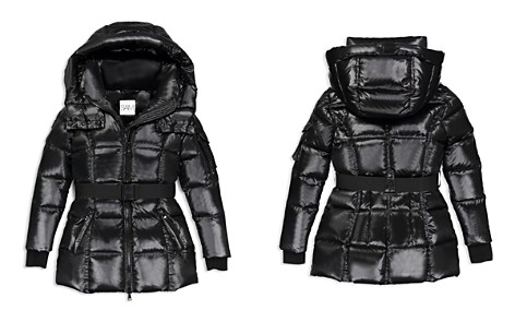 SAM. Girls' Soho Belted Puffer Jacket - Big Kid - Bloomingdale's_2