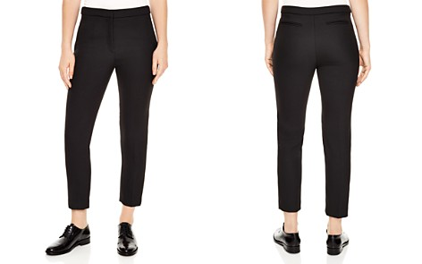 Sandro Andy Cropped Straight-Leg Pants - Bloomingdale's_2