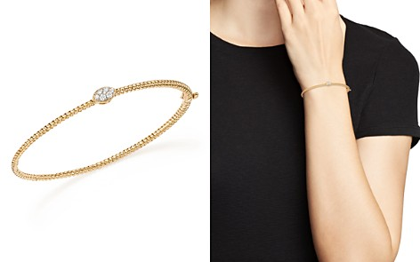 Bloomingdale's Diamond Twisted Bangle in 14K Yellow Gold, .15 ct. t.w. - 100% Exclusive_2