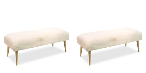 Sparrow & Wren Brady Bench with Cone Legs - Bloomingdale's_2