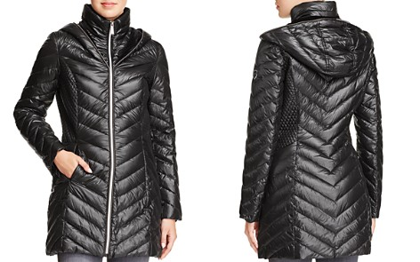 Laundry by Shelli Segal Lightweight Down Coat - Bloomingdale's_2
