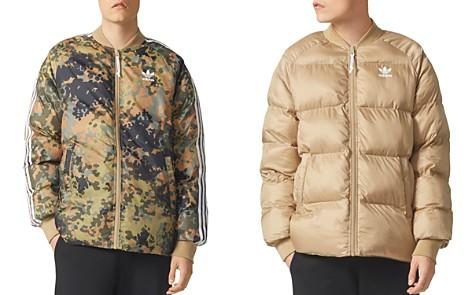 adidas Originals Camouflage Reversible Puffer Bomber Jacket - Bloomingdale's_2