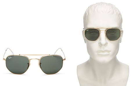 Ray-Ban Top Bar Hexagonal Sunglasses, 54mm - Bloomingdale's_2