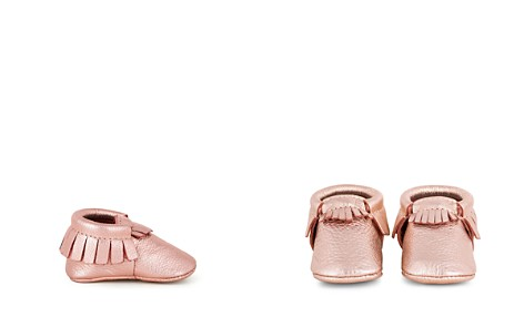 Freshly Picked Girls' Rose-Gold Moccasins - Baby - Bloomingdale's_2