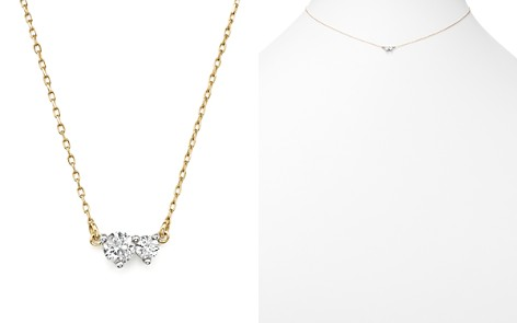 "Adina Reyter 14K Yellow Gold Amigos Diamond Two Station Choker Necklace, 14"" - Bloomingdale's_2"