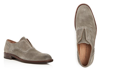 John Varvatos Star USA Men's Waverly Suede Laceless Oxfords - Bloomingdale's_2