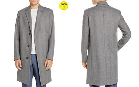 Theory Bower Wool Herringbone Coat - GQ60, 100% Exclusive - Bloomingdale's_2