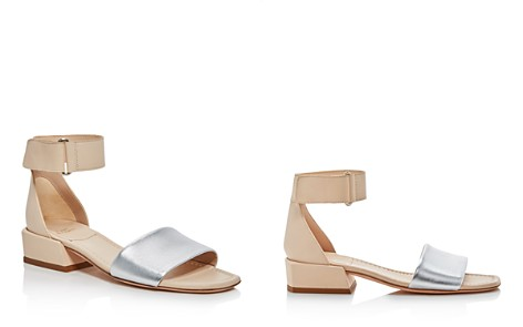 Stuart Weitzman Women's Oneway Leather Color-Block Sandals - Bloomingdale's_2