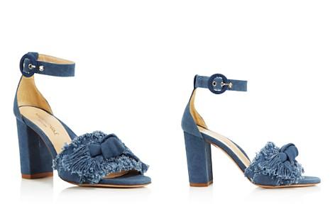 MARION PARKE Women's Larin Denim High Block-Heel Sandals - Bloomingdale's_2