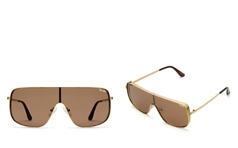 Quay Unbothered Square Shield Sunglasses, 58mm - Bloomingdale's_2