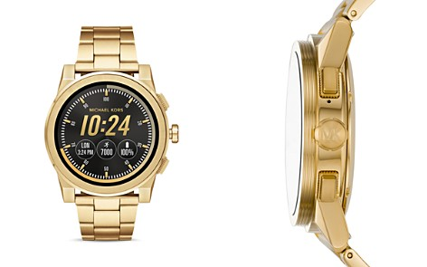 Michael Kors Grayson Gold-Tone Touchscreen Smartwatch, 47mm - Bloomingdale's_2