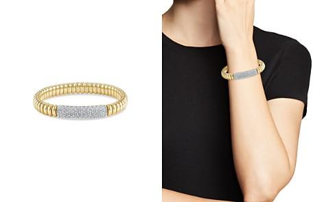 Hulchi Belluni 18K Yellow Gold Tresore Pavé Diamond Bracelet - Bloomingdale's_2