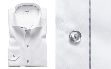 Eton Gray Button Slim Fit Dress Shirt - Bloomingdale's_2