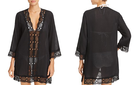 La Blanca Island Fare Tunic Swim Cover-Up - Bloomingdale's_2