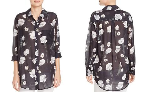 Equipment Daddy Floral Print Voile Shirt - Bloomingdale's_2