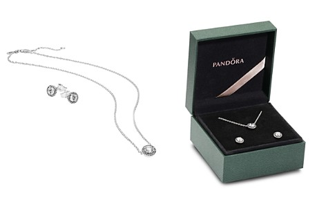 PANDORA Sterling Silver & Cubic Zirconia Bracelet & Charm Classic Elegance Gift Set - Bloomingdale's_2
