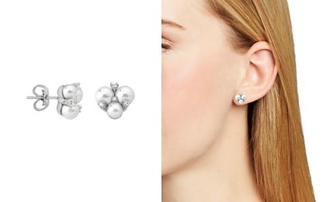 Majorica Simulated Pearl Cluster Earrings - Bloomingdale's_2