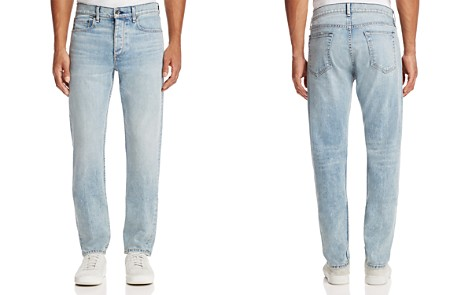 rag & bone Standard Issue Fit 2 Slim Fit Jeans in Light Blue - Bloomingdale's_2