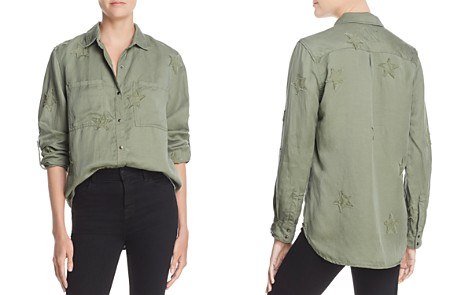 Rails Marcel Star Embroidered Utility Shirt - Bloomingdale's_2