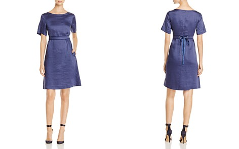 Weekend Max Mara Spoleto Belted A-Line Dress - Bloomingdale's_2