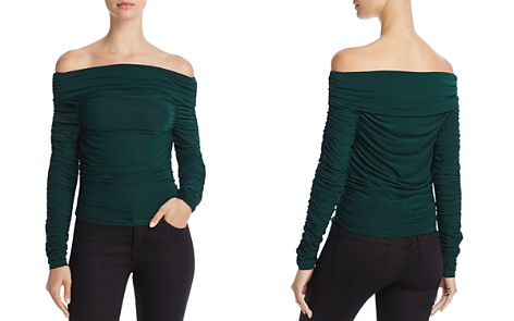 Elizabeth and James Terence Off-the-Shoulder Ruched Top - Bloomingdale's_2