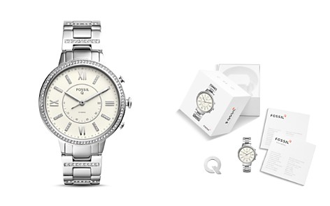 Fossil Q Virginia Hybrid Smartwatch, 36mm - Bloomingdale's_2