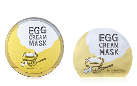 Too Cool For School Egg Cream Sheet Mask Gift Set - Bloomingdale's_2