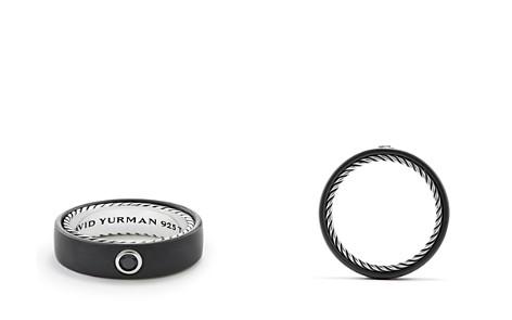 David Yurman Men's Streamline Band Ring with Black Diamond - Bloomingdale's_2