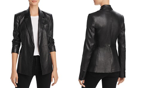 Theory Leather Blazer - Bloomingdale's_2