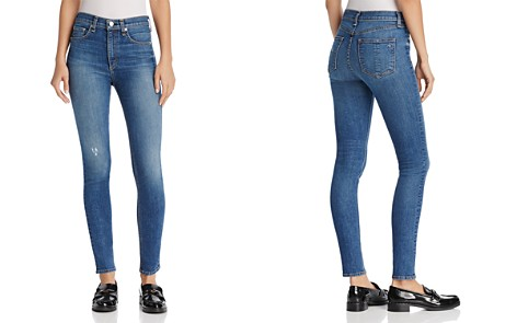 rag & bone/JEAN High-Rise Skinny Jeans in El - Bloomingdale's_2