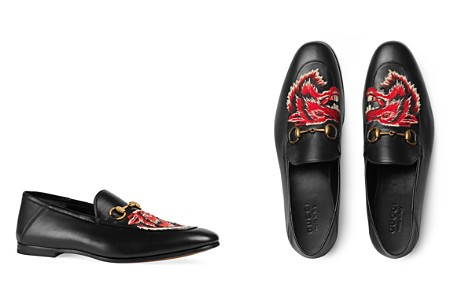 Gucci Men's Wolf Head Loafers - Bloomingdale's_2