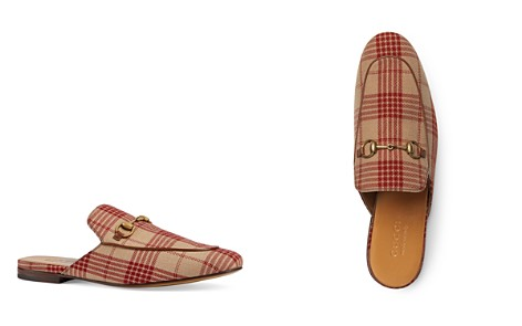 Gucci Men's Check Slippers - Bloomingdale's_2
